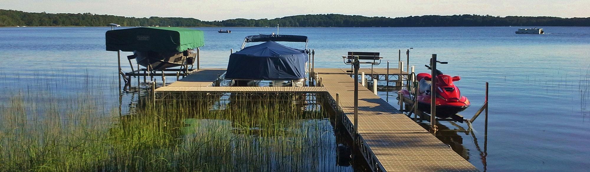 Portable Docks in Wisconsin