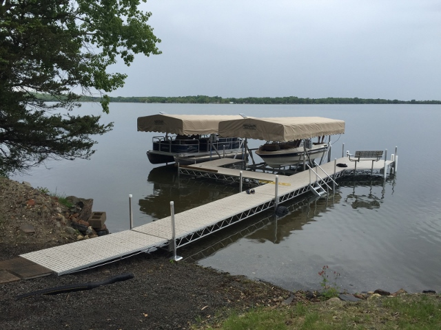 Custom Portable Boating Docks and Lifts | WI | 800-646-4089